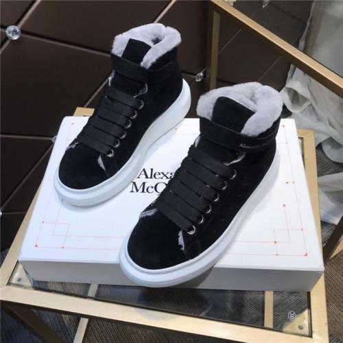 Alexander McQueen High Tops Shoes For Women #830303