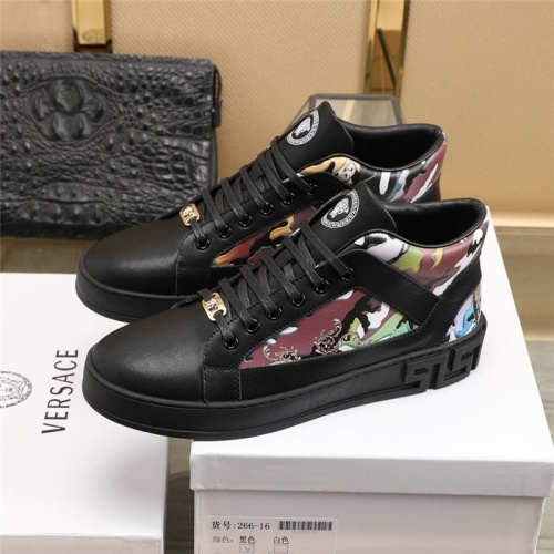 Replica Versace Casual Shoes For Men #830344 $82.00 USD for Wholesale