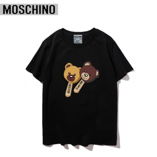 Moschino T-Shirts Short Sleeved O-Neck For Men #830416