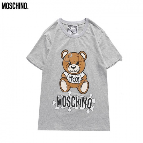 Moschino T-Shirts Short Sleeved O-Neck For Men #830422
