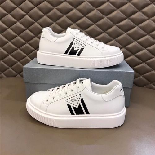 Prada Casual Shoes For Men #830536 $72.00 USD, Wholesale Replica Prada Casual Shoes