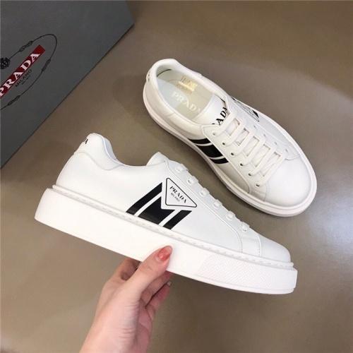 Replica Prada Casual Shoes For Men #830536 $72.00 USD for Wholesale