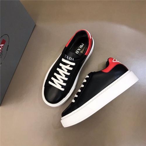 Replica Prada Casual Shoes For Men #830537 $72.00 USD for Wholesale