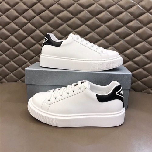 Prada Casual Shoes For Men #830538 $72.00 USD, Wholesale Replica Prada Casual Shoes