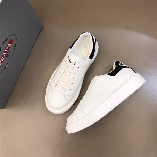 Replica Prada Casual Shoes For Men #830538 $72.00 USD for Wholesale