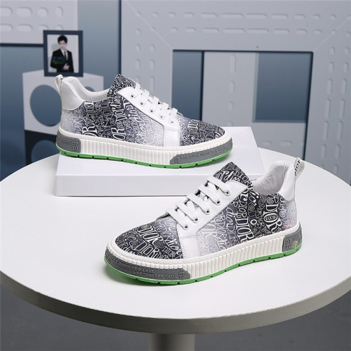 Christian Dior Casual Shoes For Men #830544 $76.00, Wholesale Replica Christian Dior Casual Shoes