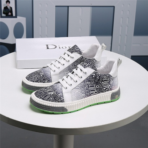 Replica Christian Dior Casual Shoes For Men #830544 $76.00 USD for Wholesale