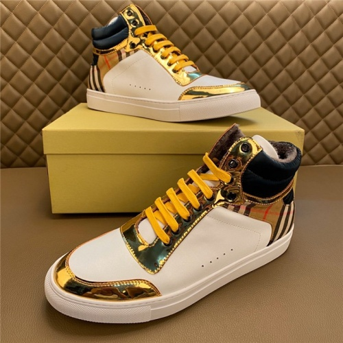Burberry High Tops Shoes For Men #830557