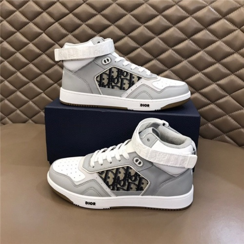 Christian Dior High Tops Shoes For Men #830559