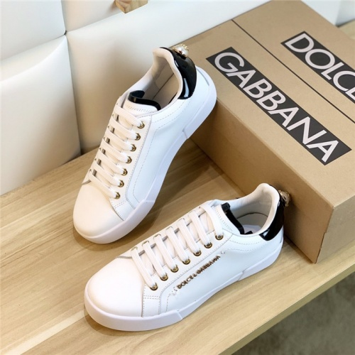 Dolce & Gabbana D&G Casual Shoes For Men #830566