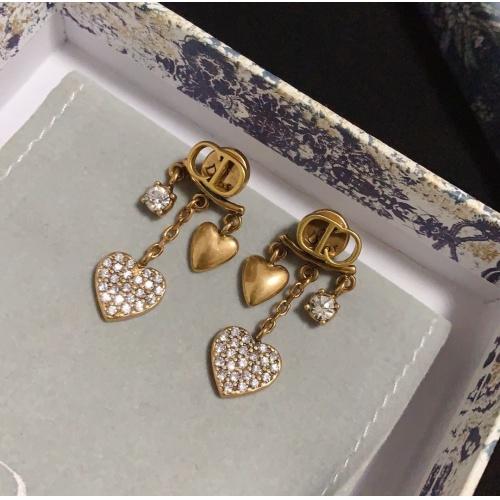 Christian Dior Earrings #830638 $29.00 USD, Wholesale Replica Christian Dior Earrings