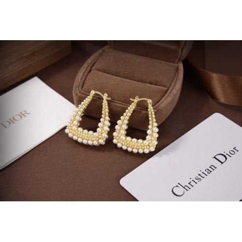 Christian Dior Earrings #830646 $34.00 USD, Wholesale Replica Christian Dior Earrings