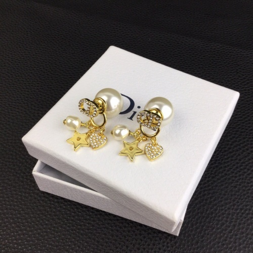 Christian Dior Earrings #830685 $32.00, Wholesale Replica Christian Dior Earrings