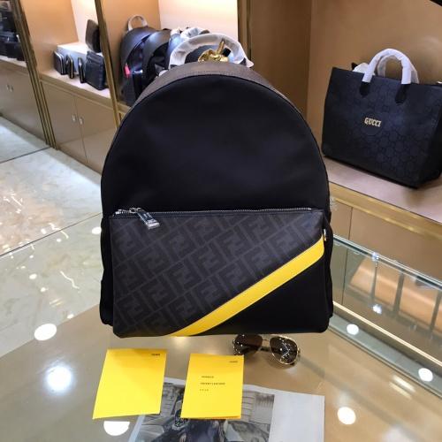 Fendi AAA Man Backpacks #830756
