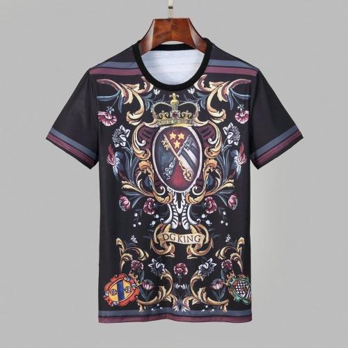 Dolce & Gabbana D&G T-Shirts Short Sleeved O-Neck For Men #830770
