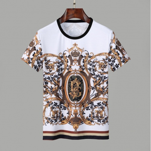 Dolce & Gabbana D&G T-Shirts Short Sleeved O-Neck For Men #830772
