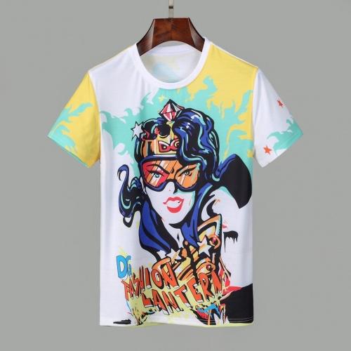 Dolce & Gabbana D&G T-Shirts Short Sleeved O-Neck For Men #830773