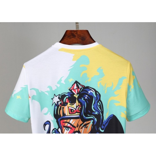 Replica Dolce & Gabbana D&G T-Shirts Short Sleeved O-Neck For Men #830773 $25.00 USD for Wholesale