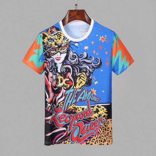 Dolce & Gabbana D&G T-Shirts Short Sleeved O-Neck For Men #830774