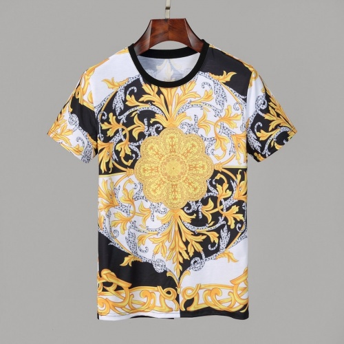 Versace T-Shirts Short Sleeved O-Neck For Men #830786