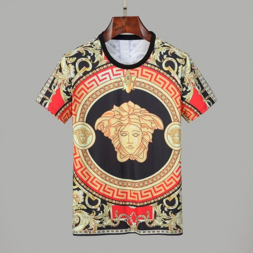 Versace T-Shirts Short Sleeved O-Neck For Men #830787