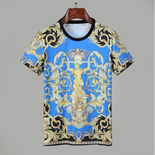 Versace T-Shirts Short Sleeved O-Neck For Men #830790