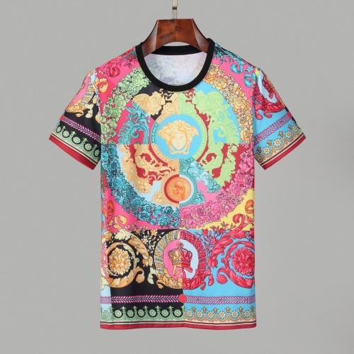 Versace T-Shirts Short Sleeved O-Neck For Men #830792
