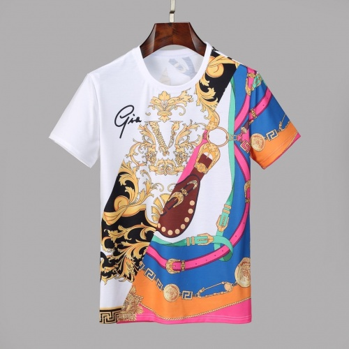 Versace T-Shirts Short Sleeved O-Neck For Men #830796