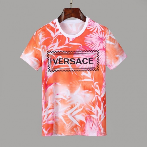 Versace T-Shirts Short Sleeved O-Neck For Men #830797