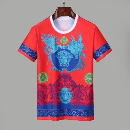 Versace T-Shirts Short Sleeved O-Neck For Men #830799