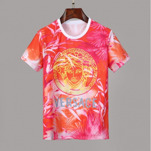 Versace T-Shirts Short Sleeved O-Neck For Men #830801