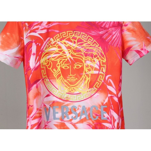 Replica Versace T-Shirts Short Sleeved O-Neck For Men #830801 $25.00 USD for Wholesale