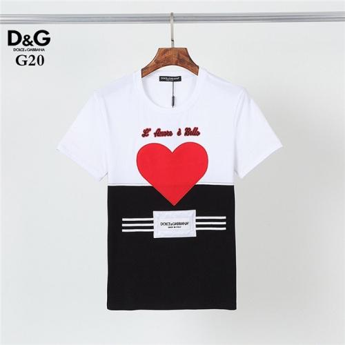 Dolce & Gabbana D&G T-Shirts Short Sleeved O-Neck For Men #830810
