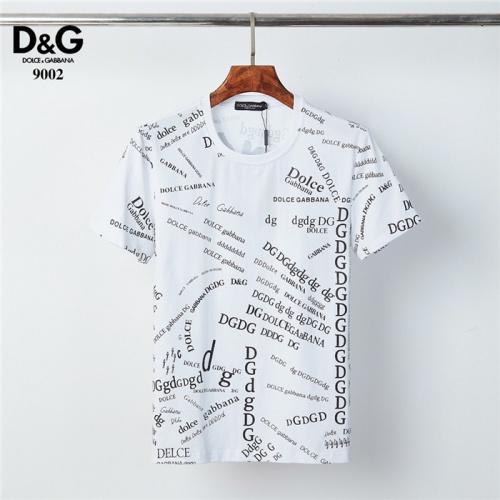 Dolce & Gabbana D&G T-Shirts Short Sleeved O-Neck For Men #830820