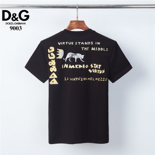 Replica Dolce & Gabbana D&G T-Shirts Short Sleeved O-Neck For Men #830825 $29.00 USD for Wholesale