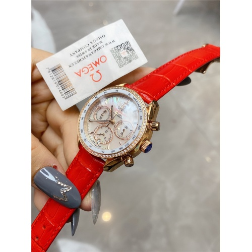 Replica OMEGA AAA Quality Watches For Women #830836 $145.00 USD for Wholesale