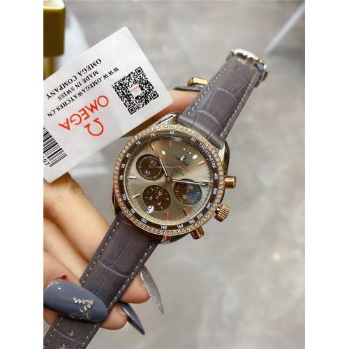 Replica OMEGA AAA Quality Watches For Women #830837 $145.00 USD for Wholesale
