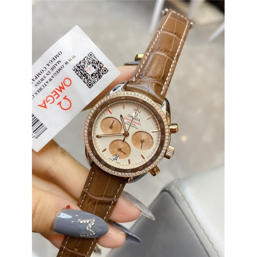 Replica OMEGA AAA Quality Watches For Women #830838 $145.00 USD for Wholesale