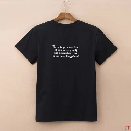 Replica Balenciaga T-Shirts Short Sleeved O-Neck For Men #830867 $27.00 USD for Wholesale