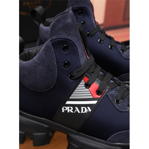 Replica Prada Casual Shoes For Men #830900 $80.00 USD for Wholesale