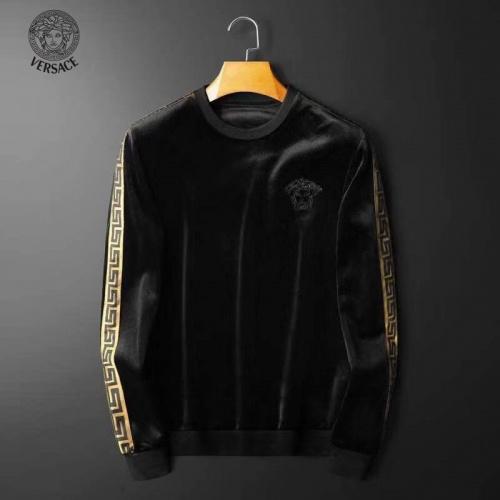 Versace Hoodies Long Sleeved O-Neck For Men #830971