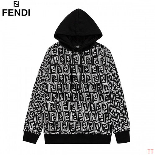 Fendi Hoodies Long Sleeved Hat For Men #831071 $41.00 USD, Wholesale Replica Fendi Hoodies