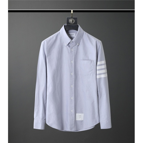 Thom Browne TB Shirts Long Sleeved Polo For Men #831118