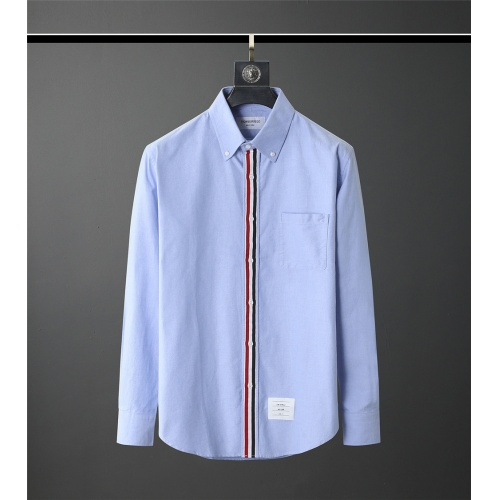 Thom Browne TB Shirts Long Sleeved Polo For Men #831119