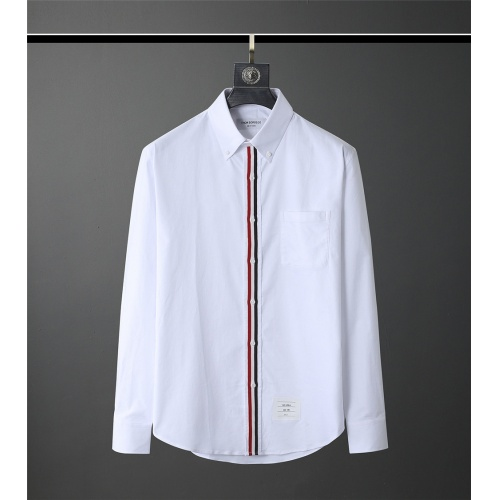 Thom Browne TB Shirts Long Sleeved Polo For Men #831120