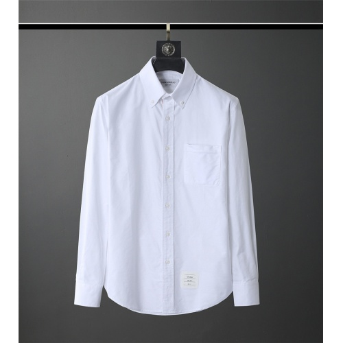 Thom Browne TB Shirts Long Sleeved Polo For Men #831121