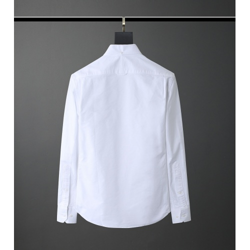 Replica Thom Browne TB Shirts Long Sleeved Polo For Men #831121 $80.00 USD for Wholesale