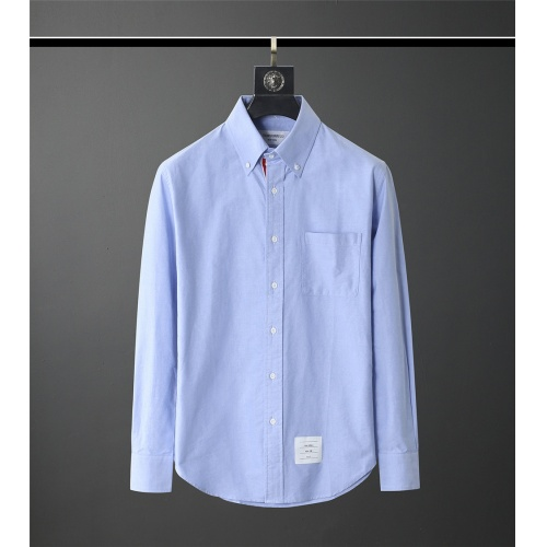 Thom Browne TB Shirts Long Sleeved Polo For Men #831122