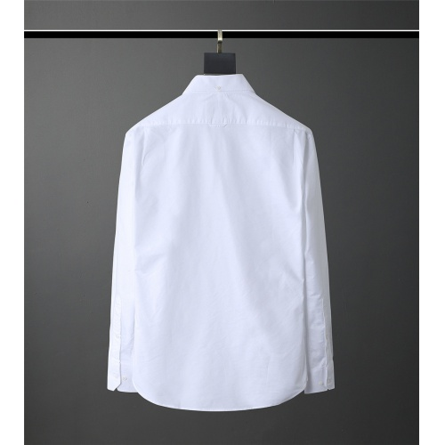 Replica Thom Browne TB Shirts Long Sleeved Polo For Men #831123 $80.00 USD for Wholesale