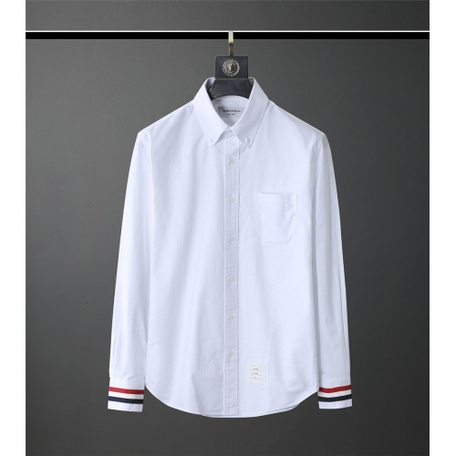 Thom Browne TB Shirts Long Sleeved Polo For Men #831125